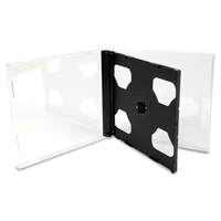 Jewel Box 2 CD tray nero